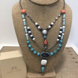 Chloe + Isabel Jewelry - Turkish Delight Multi-Row Necklace